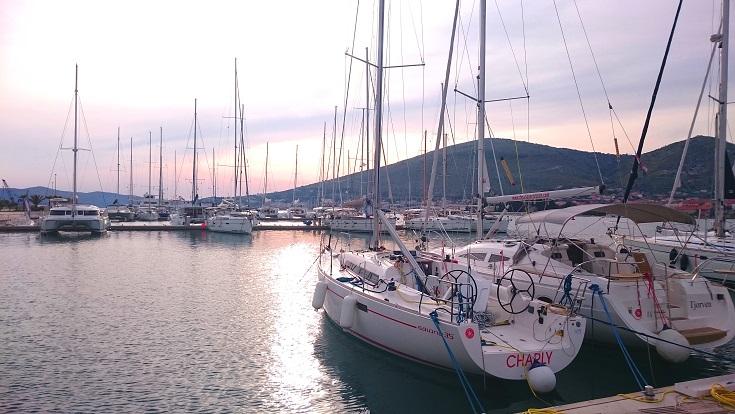 Nowa marina w Trogirze.